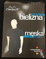 Мужской комплект термобелья с длинным рукавом Campus (термобельё для мужчин)